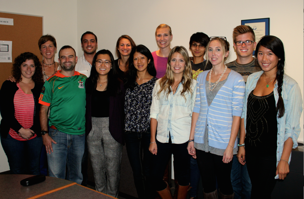 ICDR-Students group 2014-2015