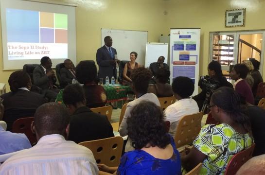 Launch of Sepo II study findings: Life on ART