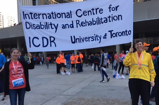 ICDR at the Scotiabank 5k/Marathon