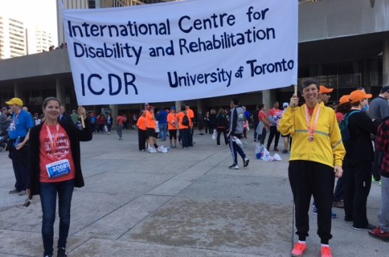 Join ICDR's 2018 Scotiabank 5 km/ Marathon Team