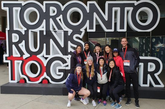 ICDR Participates in the Scotiabank Charity Run 2018